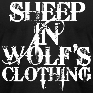 Sheep In Wolf's Clothing T-Shirts - Men's T-Shirt by American Apparel