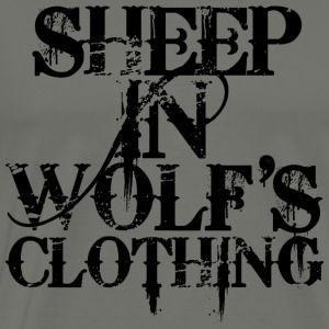 Sheep In Wolf's Clothing T-Shirts - Men's Premium T-Shirt
