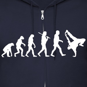 Hip Hop Evolution Zip Hoodies & Jackets - Men's Zip Hoodie