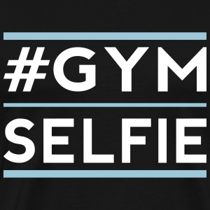 gym selfie T-Shirts - Men's Premium T-Shirt