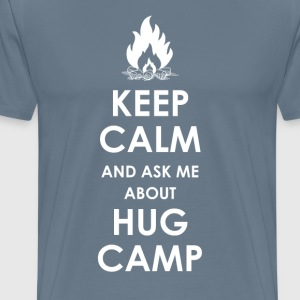 Keep Calm and Ask Me  - Men's Premium T-Shirt