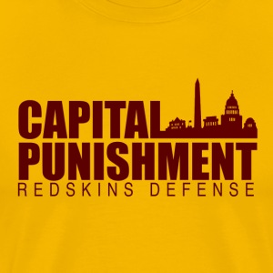 Capital Punishment Redskins - Men's Premium T-Shirt