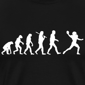 Evolution of Football T-Shirts - Men's Premium T-Shirt