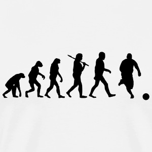 Evolution of Soccer T-Shirts - Men's Premium T-Shirt