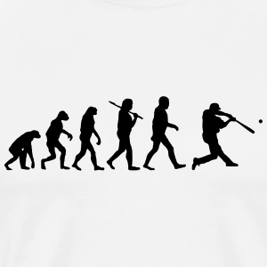 Evolution of Baseball T-Shirts - Men's Premium T-Shirt