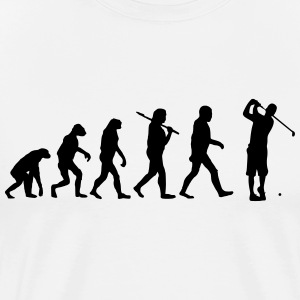 Evolution of golf T-Shirts - Men's Premium T-Shirt