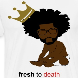 White Fresh2Death - Men's Premium T-Shirt