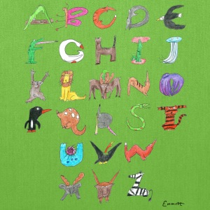 Animal Alphabet Bags & backpacks - Tote Bag