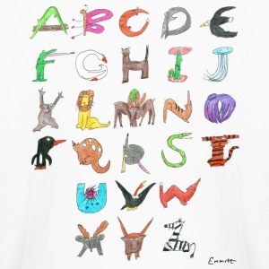 Animal Alphabet Kids' Shirts - Kids' Long Sleeve T-Shirt