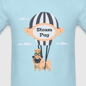 Steam Pug - Men's T-Shirt