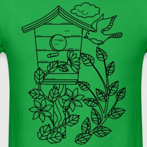 Bird Cage - Men's T-Shirt