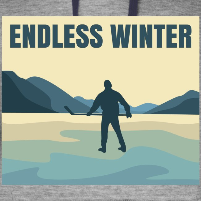 Endless Winter- Men's Colorblock Hoodie