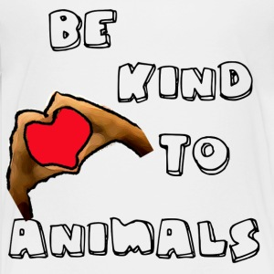BE KIND TO ANIMALS - Kids' Premium T-Shirt