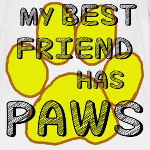 MY BEST FRIEND HAS PAWS - Kids' Premium T-Shirt