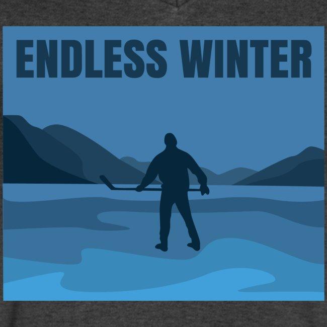 Endless Winter-Men's V-Neck Tee