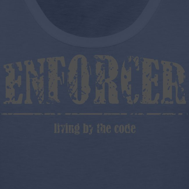 Enforcer-Living by the Code-Men's Tank