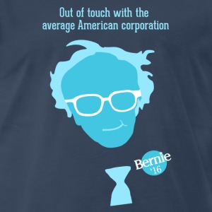 Bernie 2016 - Bern the Corporations! - Men's Premium T-Shirt