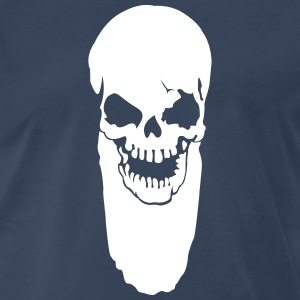 Skull with beard Shirt - Men's Premium T-Shirt