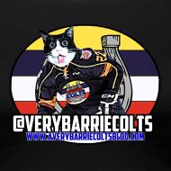 Design ~ A Very Barrie Colts womens cat t-shirt