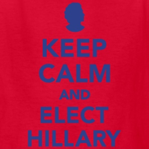 Keep calm and elect Hillary Kids' Shirts - Kids' T-Shirt