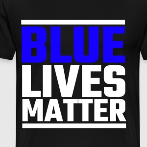 Blue Lives Matter - Men's Premium T-Shirt