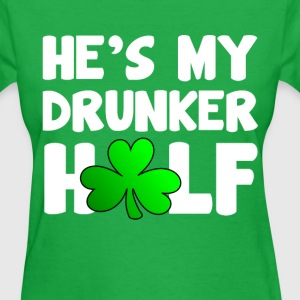 He's My Drunker Half - Women's T-Shirt