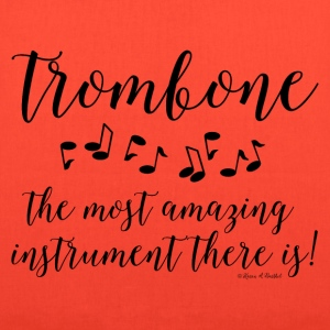 Amazing Trombone Bags & backpacks - Tote Bag