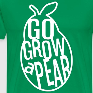 Go Grow a  Pear - Men's Premium T-Shirt