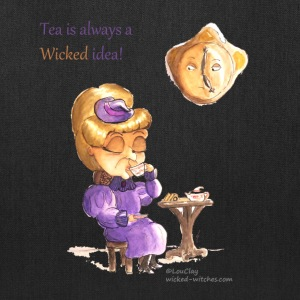 Tea Time Wicked Witch Tote bag - Tote Bag