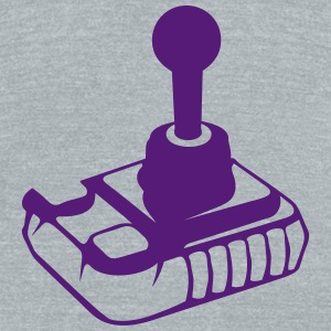 old joystick games  312 T-Shirts - Unisex Tri-Blend T-Shirt by American Apparel