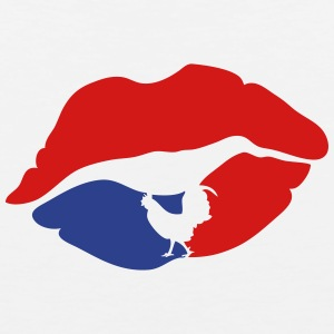 mouth lip kiss french cock Sportswear - Men's Premium Tank