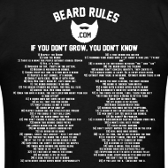 Design ~ All Of The Beard Rules