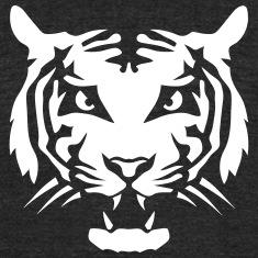 tiger wild animal head 3107 T-Shirts
