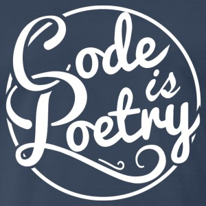Code is Poetry Tshirt - Men's Premium T-Shirt