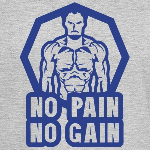 no pain no gain bodybuilding 0 Long Sleeve Shirts - Men's Long Sleeve T-Shirt
