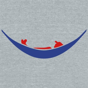 hammock character 306 T-Shirts - Unisex Tri-Blend T-Shirt by American Apparel