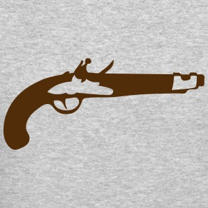 old pistol old revolver 306 Long Sleeve Shirts - Crewneck Sweatshirt