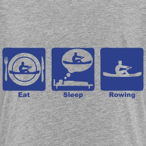 eat sleep rowing sports 306 Kids' Shirts - Kids' Premium T-Shirt