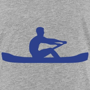 logo sports rowing oar 306 Kids' Shirts - Kids' Premium T-Shirt