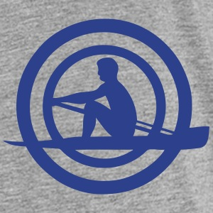 logo sports rowing oar man 30632 Kids' Shirts - Kids' Premium T-Shirt
