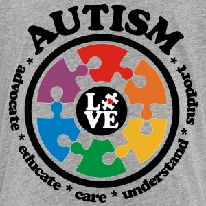 LOVE Autism Awareness - Toddler Premium T-Shirt - Toddler Premium T-Shirt