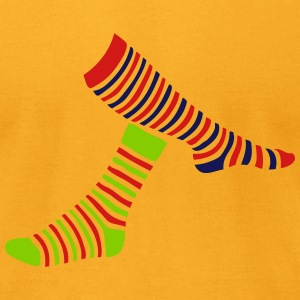 1 sock 2 T-Shirts - Men's T-Shirt by American Apparel