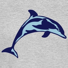 dolphin marine animal 30622 Long Sleeve Shirts