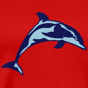 dolphin marine animal 30622 T-Shirts - Men's Premium T-Shirt