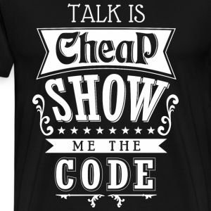 Show The Code Tshirt - Men's Premium T-Shirt