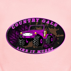 Country Gals like it muddy - Short Sleeve Baby Bodysuit