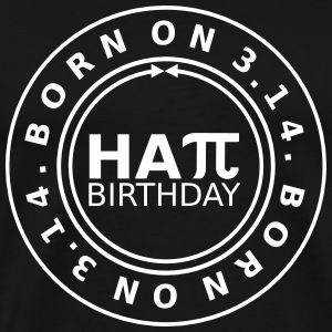 Born on Pi Day (Happy Birthday) T-Shirts - Men's Premium T-Shirt