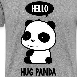 Hello Panda - Men's Premium T-Shirt