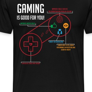 Gaming is Good for You - Men's Premium T-Shirt