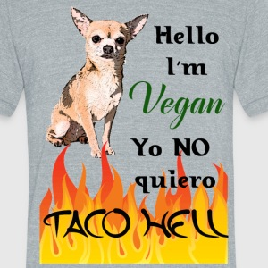 Yo no quiero Taco Hell - Unisex Tri-Blend T-Shirt by American Apparel